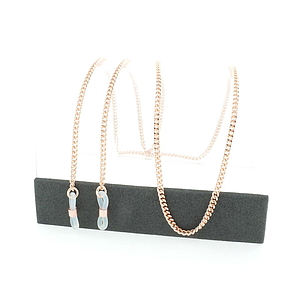 curb chain chain rose gold plated