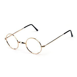 round frame w-bridge gold plated 2005g