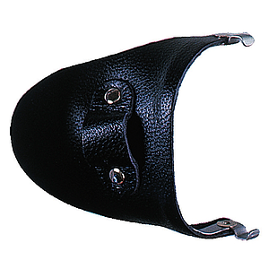 side shield leather black
