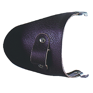 side shield leather brown