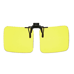 flip sun shield yellow