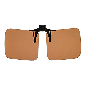 flip sun shield brown