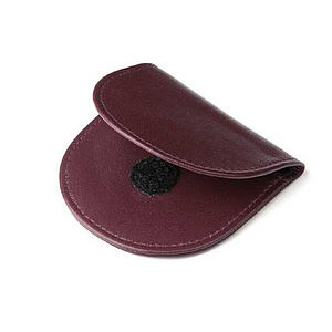 case for monocle with support ring bordeaux