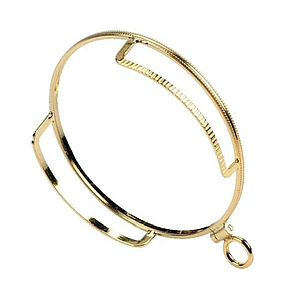 monocle with support gold plated 681