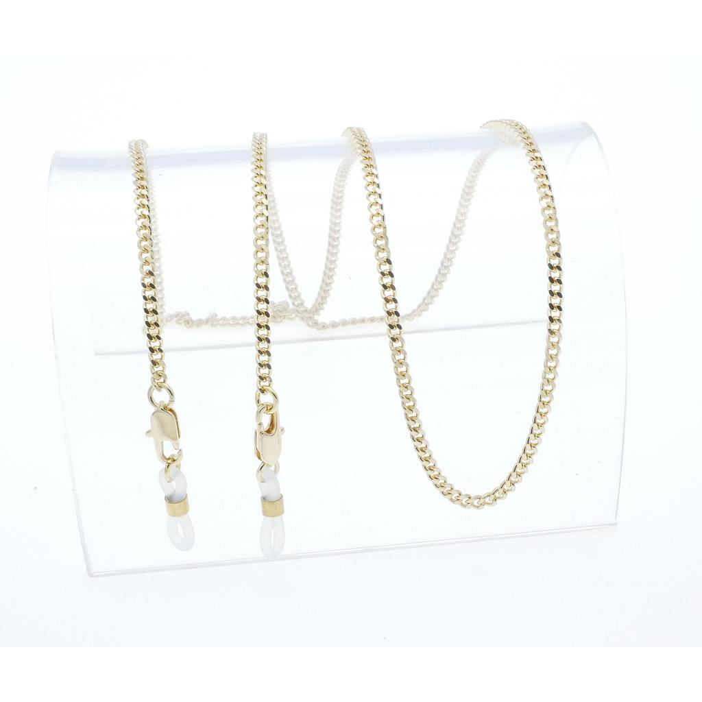classic curb chain gold plated