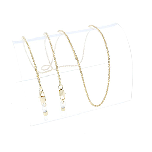 classic cord chain gold plated
