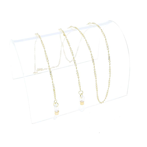 thin metal chain gold
