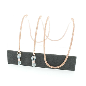 Milanese chain rose gold plated