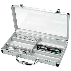 6-slot cleartop case